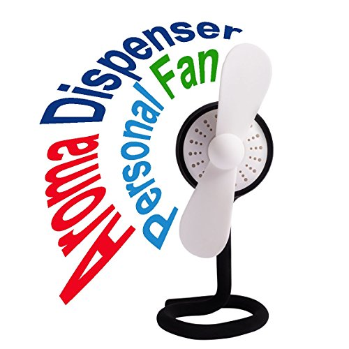MasterPal Telego Rechargeable Fan (Black): A Personal Portable Fan Rechargeable Battery Operated Fan With Popular Aroma Dispenser Feature Better Clip On Tail Design (Black) (Motorized Oil Lamps compare prices)