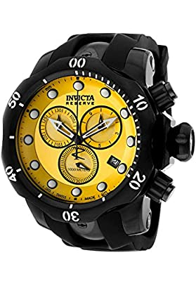 Invicta Men's 5736 Reserve Collection Black Ion-Plated Chronograph Watch