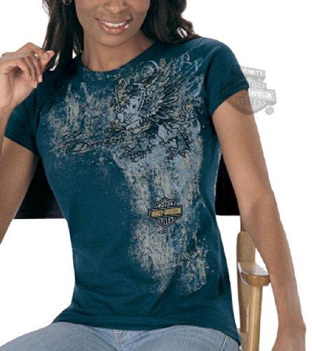 Harley-Davidson Womens Trendy Short Sleeve T-Shirt Large