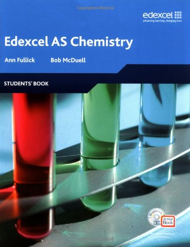 Edexcel A Level Science: AS Chemistry: Students' Book with ActiveBook (Edexcel GCE Chemistry)