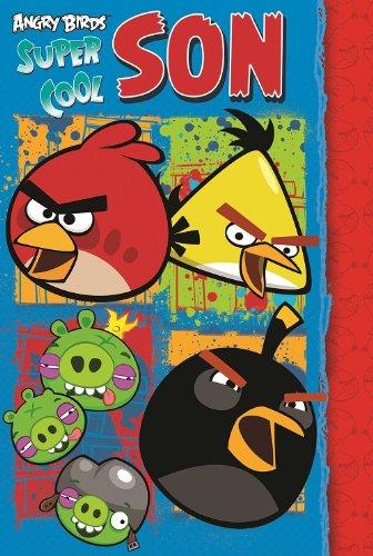 Angry Birds Son Birthday Card