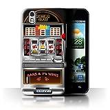 STUFF4 Phone Case Cover for LG Optimus Black P970 Machine Design Slot Machine Collection
