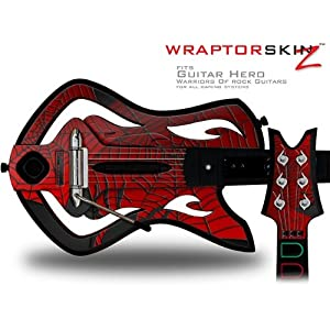 Buy Amazon.com: Warriors Of Rock Guitar Hero Skin - Spider Web (GUITAR NOT