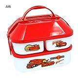 カーズ/Cars 家型ランチボックス(大きな弁当箱)ディズニーキャラクターグッズ通販【A柄(赤)】