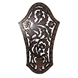 Frabjous Beautiful wooden Wall Hanging 8 Key holder with Key hooks in Antique Design