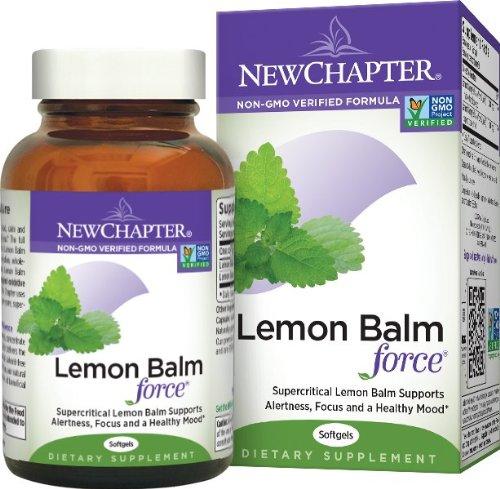 资助缓解焦虑/减轻压力/会合精力,New Chapter新章 Lemon Balm Force 香蜂叶 30粒