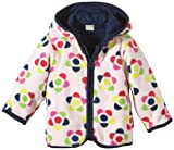 NAME IT Baby - Mädchen (0-24 Monate) Jacke MONA NB FLEECE CARDIGAN, Gr. 62, Rosa (Ballerina)