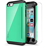 iPhone 5C Case, OBLIQ [Skyline Pro][Mint] with HD Screen Protector - Kickstand Fit Bumper Scratch Resist Metallic Finish Dual Layered Heavy Duty Hard Protection High Quality Clear Case for Apple iPhone 5C