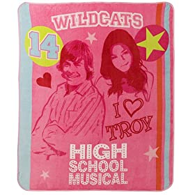 Disney High School Musical Throw