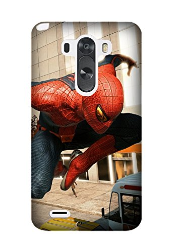Raymond Shattuck (TM) Design Game The Amazing Spider-man TPU Cellphone Case Unique and Fashion Cover For LG G3