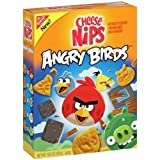 Nabisco, Cheese Nips Angry Birds Cheddar Baked Snack Crackers, 10.5 oz Box (Pack of 3)