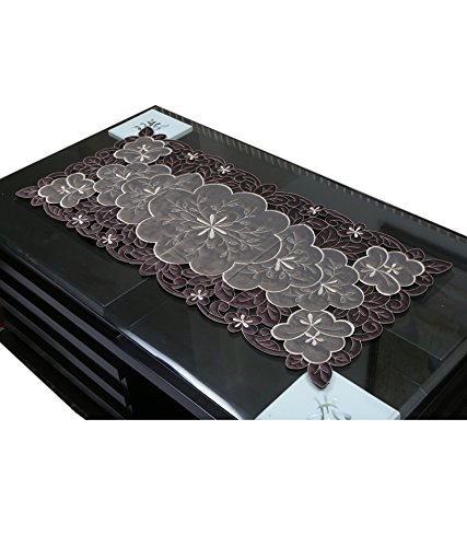 Kuber Industries Table Runner in Soft Cloth (Embroidry)  available at amazon for Rs.329