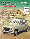 echange, troc Collectif - Revue technique automobile, N° 288.6 : Renault 4 : R 1120, R 1122 de 1961 à fin de fabrication avec moteurs 747, 782, 845, 85