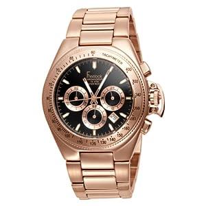 Freelook Women's HA5303RGM-1 Aquamarina II rose gold plated stainless steel Black Dial Watch