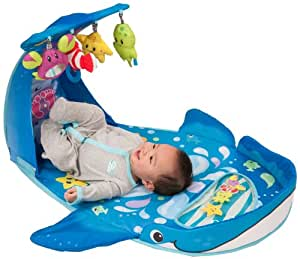 Amazon Com Infantino Wonder Whale Kicks And Giggles Gym