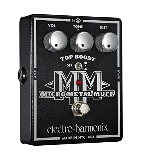 Electro-Harmonix Micro Metal Muff Distortion Pedal back-177086