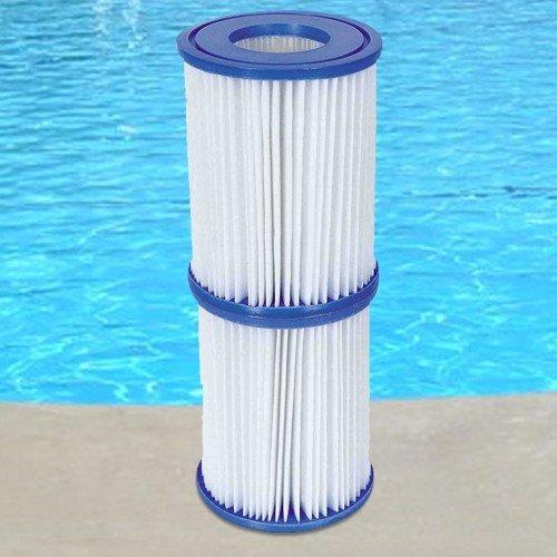 6-Stck-Bestway-Filter-Kartuschen-fr-Pool-Swimmingpool-Pumpen-Intex-Bestway-Gr-2