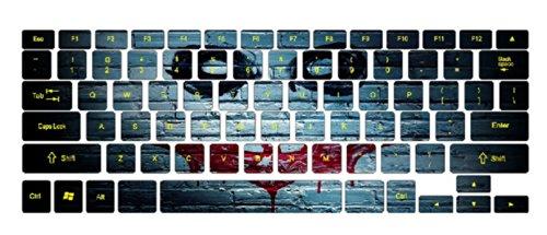 Batman Graffiti Keyboard Stickers / Decals For Macbook (Pro 13 Inch Retina)