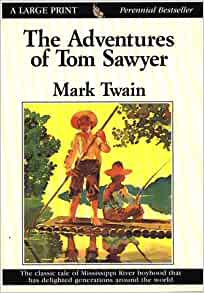 the adventures of tom sawyer thorndike classics 9780783817057 books