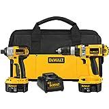 DEWALT DCK984X 14.4-Volt XRP Hammer Drill/Impact Driver Kit