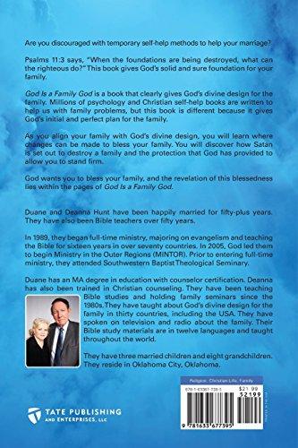 God Is a Family God: God's Divine Design for the Family