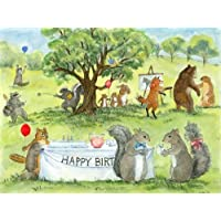 Woodfield Press Happy Birthday Notecard