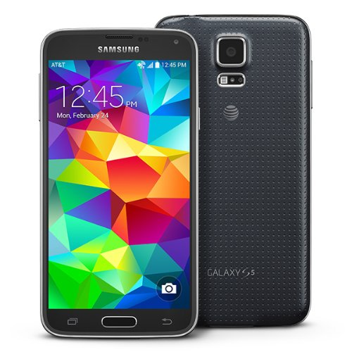 Samsung Galaxy S5 SM-G900A GSM Unlocked Cellphone, 16GB, Black (Samsung Galaxy S5 Android compare prices)