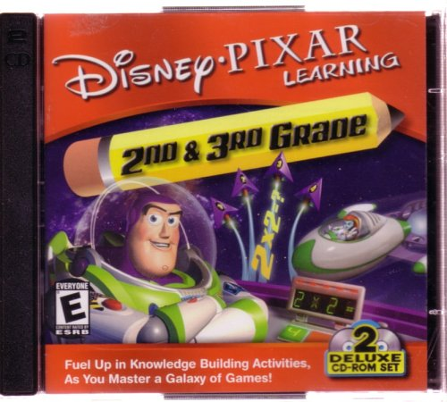Disney Pixar Learning 2nd and 3rd Grade (Jewel Case)