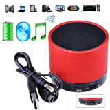 Victsing® Bluetooth Wireless Speaker A2DP Handsfree Rechargeable Metal Hifi Mic MP3 Player Music Receiver Outdoor Indoor For Samsung Galaxy S2 S3 S4 SIII S III IV SIV i9300 i9500 mini Galaxy Note I II N7100 Galaxy Tab HTC one M7 Sony Xperia S Z Nokia Lum