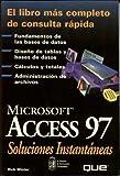 echange, troc Winter - Access 97 Soluciones Instantea