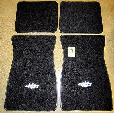 The Parts Place Yenko Embroidered Carpeted Floor Mat Set (1969 Nova Yenko Model compare prices)