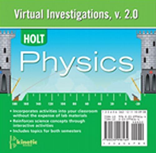Holt McDougal Physics: Virtual Investigations CD-ROM (Holt Physics 2009)