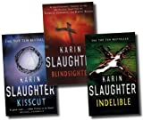 Karin Slaughter Karin Slaughter Collection 3 Books Set RRP £20.97 (Karin Slaughter Collection) (Kisscut, Blindsighted, Indelible)