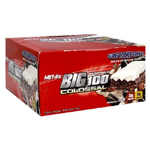 Met-Rx Big 100 Bar Colossal substitut de repas,