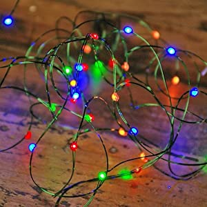 how to hide the battery pack on fairy lights