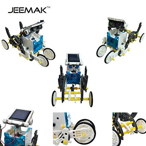 14-en-1-para-la-Educacin-Solar-Robot-Kit