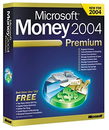 Microsoft Money 2004 Premium