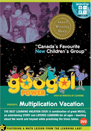 Googol Power: Multiplication Vacation DVD