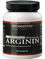 BIOMENTA - L-Arginine 3600 mg - 320 capsules