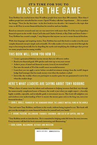 Pdf MONEY Master the Game: 7 Simple Steps to Financial Freedom by Tony Robbins