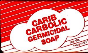 4 Bars Carib Carbolic Germicidal Soap 145g $1.45 Ea from Carib