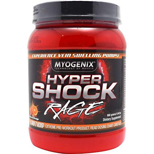 Myogenix Hypershock Rage Electric Orange 880 Grams