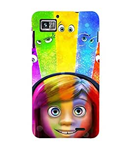 Vizagbeats Emoticons Back Case Cover for Lenovo 860