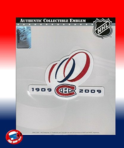 MONTREAL CANADIENS CENTENNIAL 100 YEARS ANNIVERSARY NHL