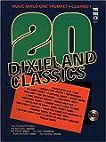 img - for Music Minus One Trumpet: Twenty Dixieland Classics (Sheet Music & 2 CDs) book / textbook / text book