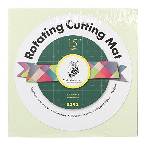 Matilda S Own Self Healing Rotating Cutting Mat 15 Quot Office
