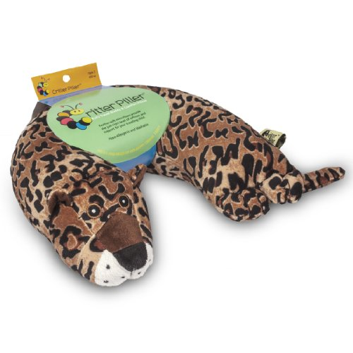 Critter Piller Kid's Neck Pillow, Leopard