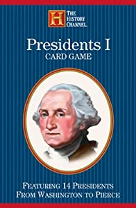 Presidents Card Game: Featuring 14 Presidents from Washington to Pierce : 1789-1857 (History Channel) by United States Games Systems