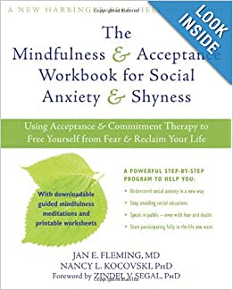 shyness social anxiety workbook pdf