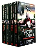 L. J. Smith Vampire Diaries Books 1 to 6 (4 Books) Set TV Tie Edition (The Awakening: AND The Struggle Bks. 1 & 2, The Fury: AND The Reunion v. 3 & 4, Shadow Souls Bk. 5, Nightfall Bk. 6)